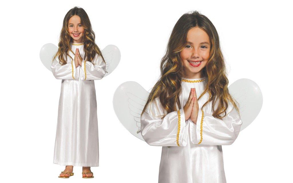 GUIRMA niña Traje de ángel con alas