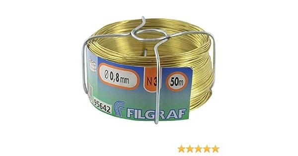 laiton Fil dattache Filgraf 50/m /ø0.8/mm 311571