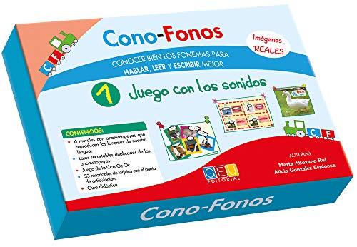 Cono-Fonos 1 - Juego con los sonidos por Alicia y Altozano Ruf, Marta González Espinosa