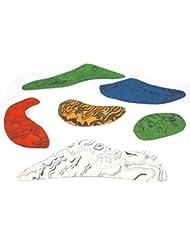 6 presas regleta DREAM-LINE, Color:mixto