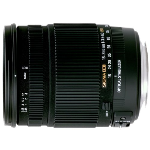 Sigma 18-250Mm F3.5-6.3 Dc Os Hsm P.Can