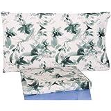 Bassetti Set Lenzuola Matrimoniale 2 piazze Dream Carpet Fuxia Verde - Matrimoniale (sotto 175x200 - sopra 240x280) - lenzMBassetti17