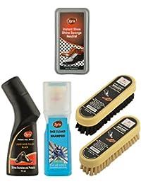 Zora Unisex Shoe Care Kit(Multicolour, JSKSCCPC12) - Pack of 5