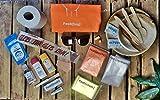Steinmine - Designmanufaktur Festival Kit [3 Tage Komplett Set] Festival Survival Set 22-Teilig, Hygiene|Wetter|Camping