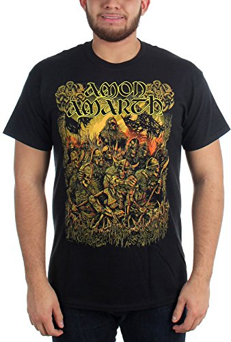 Amon Amarth - Top - Uomo Nero  nero