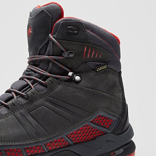Mammut Comfort Guide High GTX Surround Men - Wasserdichter Trekkingstiefel - black/sherwood Grau
