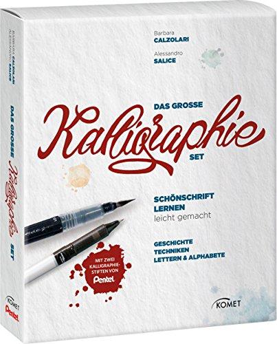 Das große Kalligraphie-Set - Schönschrift lernen leicht gemacht: Buch mit 2 Kalligraphie-Stiften von Pentel