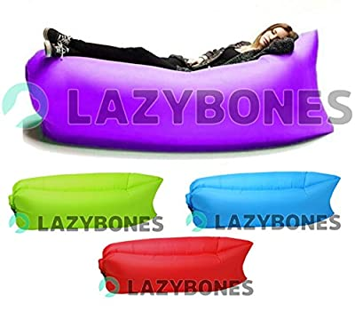 Lazybones Outdoor Air Bed Chair Seat Seating Sofa Lamzac Holiday Beach Music Festival Garden Walking Hiking Camping Fishing