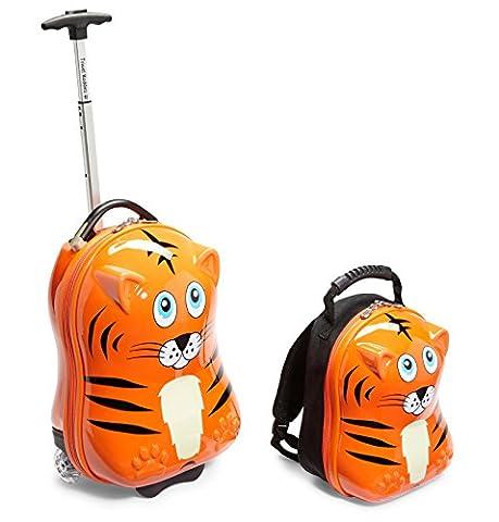 Travel Buddies Gepäck-Set, Orange (orange) - TB108