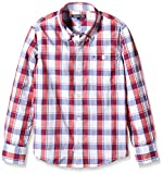 Acquista TOMMY HILFIGER KIDS DG Ramone Structure Check Shirt L/S, Camicia Bambini e Ragazzi, Palace Blue 413, 10