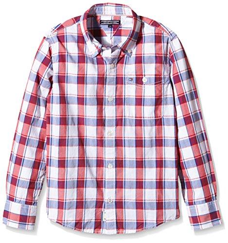 Tommy-Hilfiger-Dg-Ramone-Structure-Check-Shirt-LS-Camisa-para-Nios