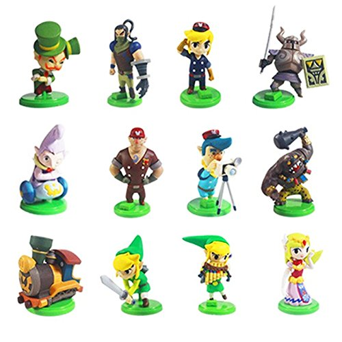 11 Nintendo THE LEGEND OF ZELDA Figuren Spirit Tracks OVP aus N64 WII Gameboy DS thematys