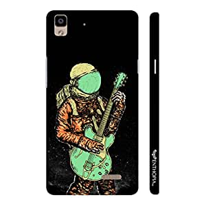 Oppo R7 Lite Astronaut Guitar designer mobile hard shell case by Enthopia