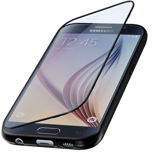 Flip TPU Touch Cover Samsung Galaxy S7 Silikon Hülle Silikonhülle Bumper Hülle Tasche Handytasche Handycover