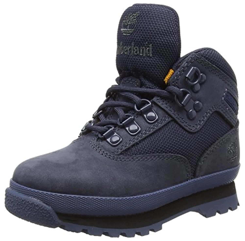 Timberland Unisex Kids' Euro Hiker Lthr/Fabr Classic Ankle Boots, Bleu (Blue), 5.5 Child UK