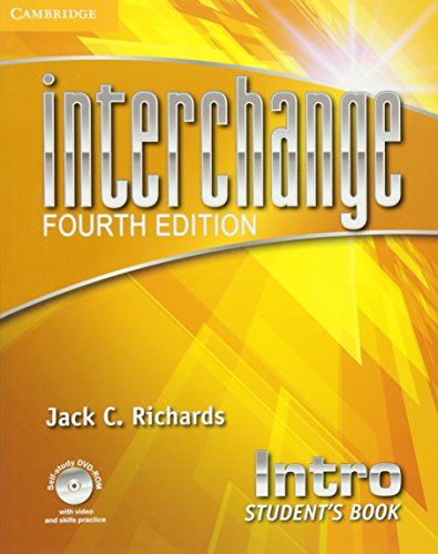 Interchange 4th Intro Student's Book with Self-study DVD-ROM (Interchange Fourth Edition)