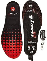 Glovii Plantillas calefactables para calzado con mando de control de temperatura a distancia, (35-40)
