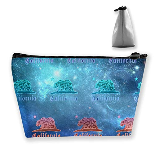 Bandana-Bär der Galaxie-Kalifornien bilden Beutel-Kulturbeutel-Taschen-Kosmetik-Beutel