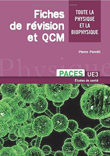 Physique / biophysique - tout l'ue3