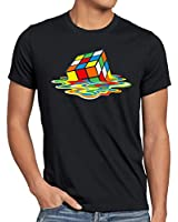 style3 Sheldon Magic Cube T-Shirt Men