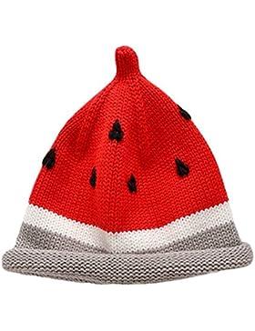 Babyicon Baby süße Frucht Wassermelone gestrickt häkeln Hut Winter warme Beanie Cap