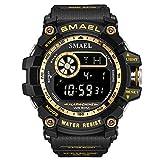 Fashion Men Digital Sports Watch 50M Wasserdichte LED Uhren für Männer Mode Digitaluhr Reloj Deportivo