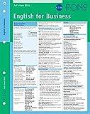 PONS English for Business auf einen Blick: kompakte Übersicht, Englisch fürs Büro (PONS Auf einen Blick)
