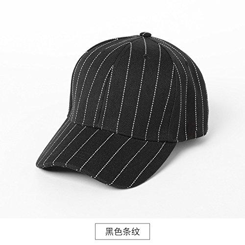 LLZTYM Chapeau/Femme/Sport/Casquette De Baseball/Chapeau/Casquette/Pare-Soleil Extérieur/Voyage/Culot/Tête/Cadeau black