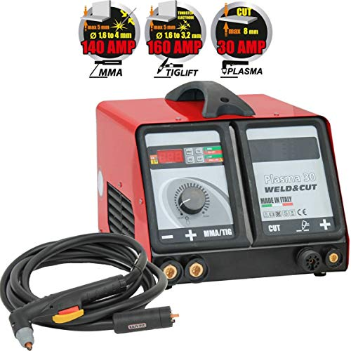 Lötstation MMA Plasma TIG Lift Weld and Cut tecnoweld -