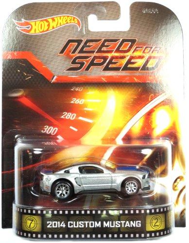Preisvergleich Produktbild Hot Wheels Ford Mustang Custom 2014 Need for Speed 1:64