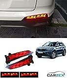 #9: Fabtec Stylsih Back Bumper LED DRL Light For Hyundai Creta Lamborghini Style