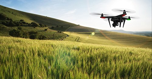 Xiro Xplorer Vision Drohne + Zusatzakku + Rucksack (Verfolgungsfunktion, Full HD Videos 1080p/30fps, 14 Mpx) - 5