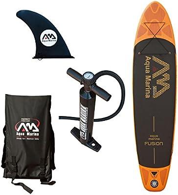 Aqua Marina Fusion Juego de tabla de remo (paddle board) y accesorios, 330x 75x 15cm
