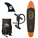 Aqua Marina Fusion Sup, Orange/Schwarz, One size