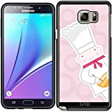 Coque Silicone pour Samsung Galaxy Note 5 (SM-N9208) - Petit Boulanger by Warp9