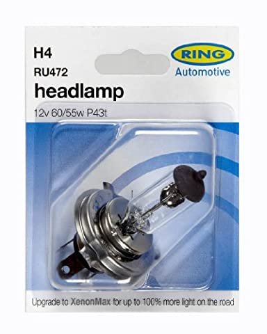 Ring Automotive 472 H4 Carded Bulb
