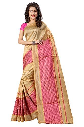 Sarees (Chanderi Cotton Silk With Blouse Piece)