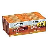 Sony DVM60PR miniDV Videocassette (60 min) 10er Pack