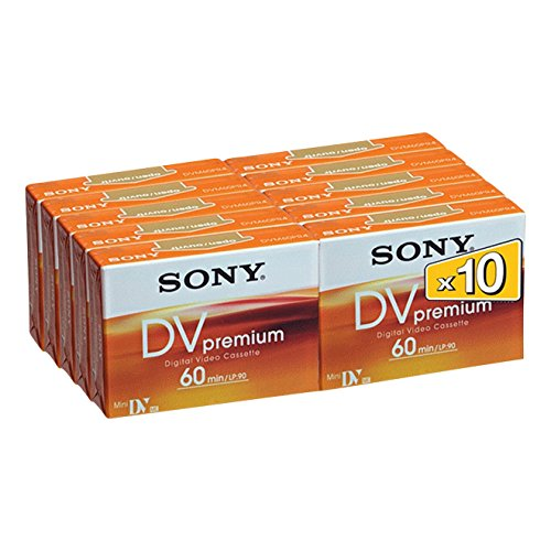 Sony DVM60PR miniDV Videocassette (60 min) 10er Pack