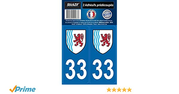 Armoiries 2 Blasonimmat plaque immatriculation33 Aquitaine