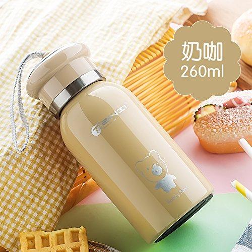 LKJH*beuta da vuoto portatile studente uomini bambini tazze in acciaio inox creative incantevole acqua calda (Personalizzati Tazza Di Caffè)