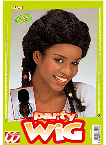 WIDMANN Tumi Damen Perücke Varia Party E Karneval 955, Mehrfarbig, 8003558631209