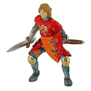 Bullyland 80786Figura Decorativa, diseño de World-Prince con Espada en Rojo