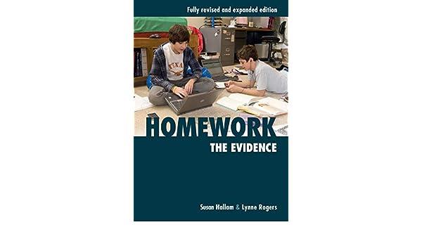 homework the evidence by susan hallam
