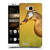 Super Galaxy Coque de Protection TPU Silicone Case pour // F00039923 Brown pato aves acuáticas // Huawei Ascend Mate 7