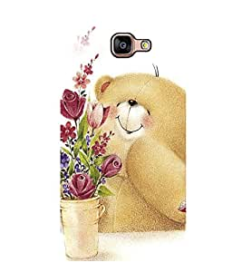 Printvisa Ultra Cute Bear 2D Hard Polycarbonate Designer Back Case Cover for Samsung Galaxy A...