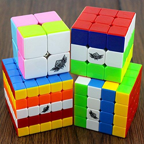 Easygame Cyclone Boyes Magic 6 colori fascio cubo Twist Puzzle velocità cubatura 2x2,3x3,4x4,5x5