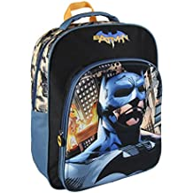 Batman vs Superman 2100001989 3D Mochila infantil, 41 cm, Azul
