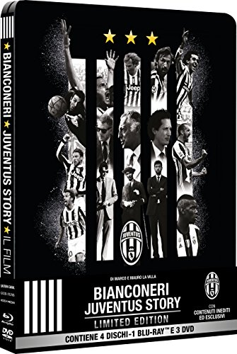 bianconeri-juventus-story-ltd-steelbook-2-blu-ray-2-dvd-bluray-italian-import