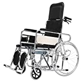 T-Day Rollstühle Rollstühle, Rollstühle Klappbare Leichte Selbstfahrende, Aluminium Rollstuhl Mit Handbremse, Full/Semi-Liegerad Rollstuhl